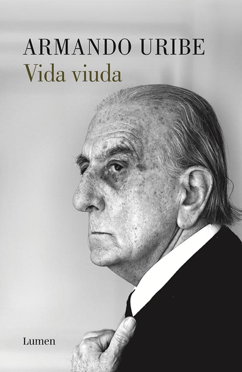 Portada de Vida Viuda, de Armando Uribe.